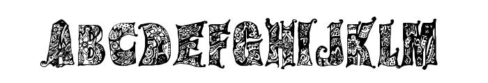 Hippie Gypsy Regular Font LOWERCASE