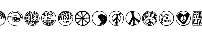 HippyStampA Font LOWERCASE