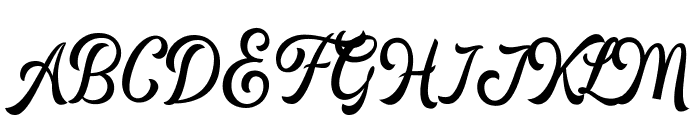 HipsteriousDEMO Font UPPERCASE