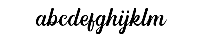 HipsteriousDEMO Font LOWERCASE