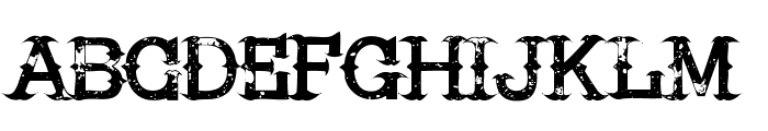 HireaCowboy-Regular Font UPPERCASE