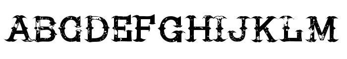 HireaCowboy-Regular Font LOWERCASE