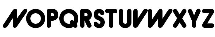 Hiruko-BlackAlternate Font UPPERCASE