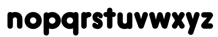 Hiruko-BlackAlternate Font LOWERCASE