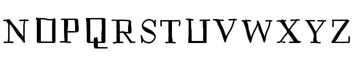 Historian Font UPPERCASE