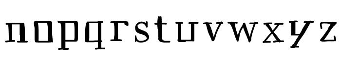 Historian Font LOWERCASE