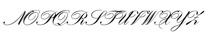 HistoricScriptOpti Font UPPERCASE