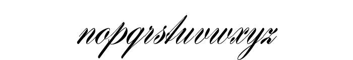 HistoricScriptOpti Font LOWERCASE
