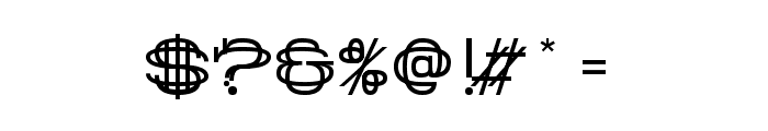History Repeating Regular Font OTHER CHARS