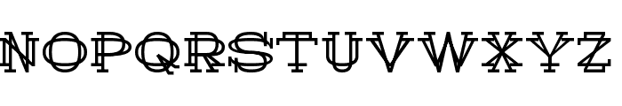 History Repeating Regular Font UPPERCASE