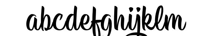 HisyamScript Personal Use Font LOWERCASE
