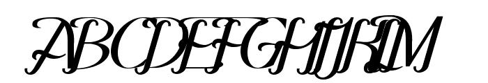 Hitalica  Bold Font UPPERCASE