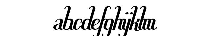 Hitalica  Bold Font LOWERCASE