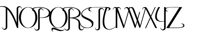 Hitalica  Vertical Font UPPERCASE