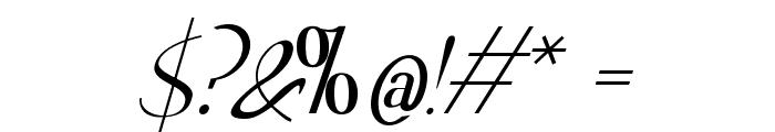 Hitalica Font OTHER CHARS