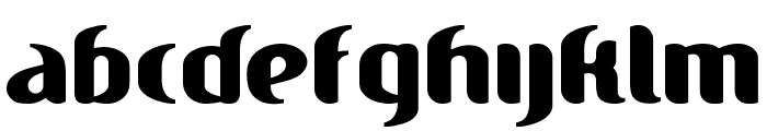 Hitch Font LOWERCASE