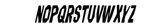 Hitchblock Condensed Italic Font LOWERCASE