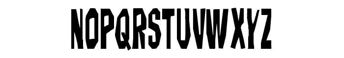 Hitchblock Condensed Font UPPERCASE