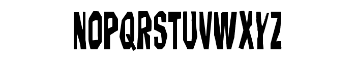 Hitchblock Condensed Font LOWERCASE