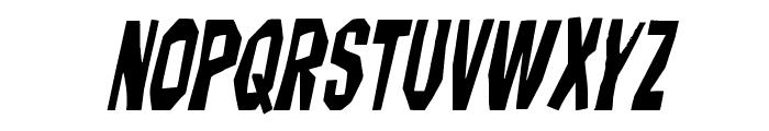 Hitchblock Italic Font UPPERCASE