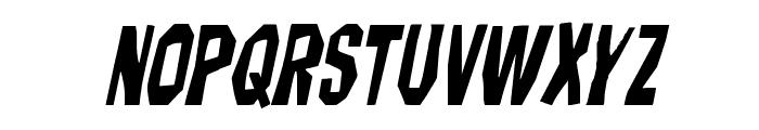 Hitchblock Italic Font LOWERCASE