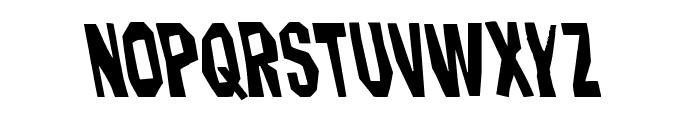 Hitchblock Leftalic Font LOWERCASE