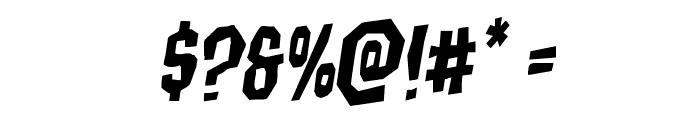 Hitchblock Rotalic Font OTHER CHARS