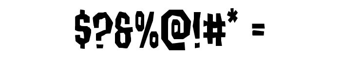 Hitchblock Font OTHER CHARS