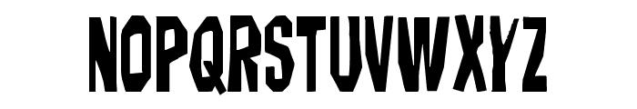 Hitchblock Font UPPERCASE