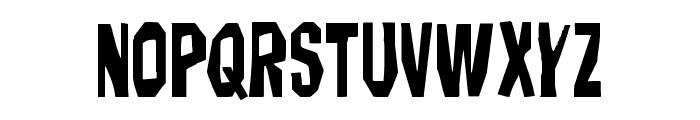 Hitchblock Font LOWERCASE