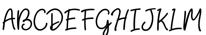 HiyaghAhey Font UPPERCASE