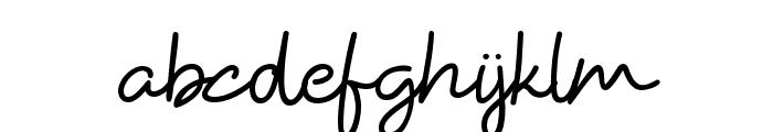 HiyaghAhey Font LOWERCASE