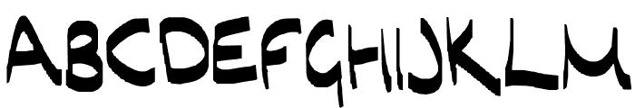 hi Font UPPERCASE