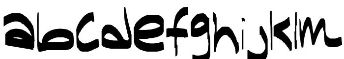 hi Font LOWERCASE
