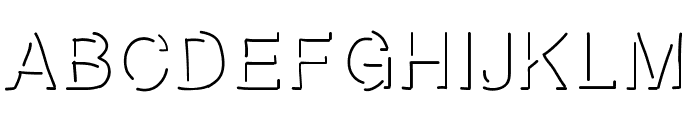 highlight Font UPPERCASE