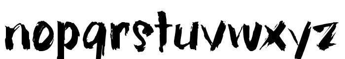 hillBelly_TRIAL Font LOWERCASE