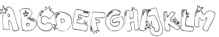 hiphopbarbie Font LOWERCASE