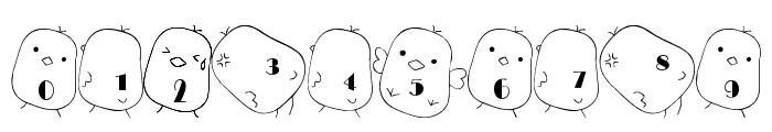 hiyo Font Font OTHER CHARS