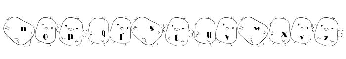 hiyo Font Font LOWERCASE