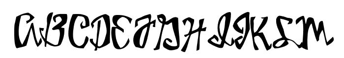 Birdhouse Font UPPERCASE