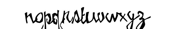 Birdhouse Font LOWERCASE