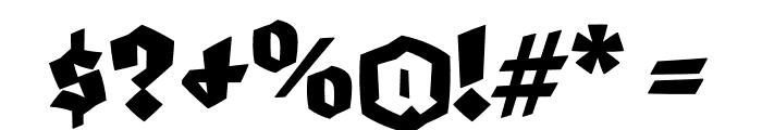 Blaktur Font OTHER CHARS