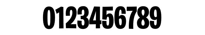 Burbank Big Condensed Light Bold Font OTHER CHARS