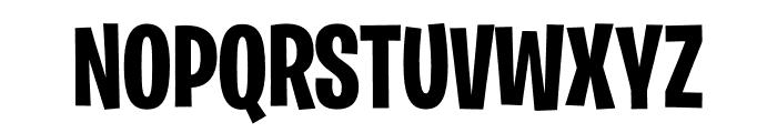 Burbank Big Condensed Light Bold Font UPPERCASE