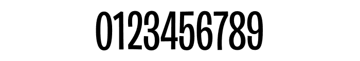 Burbank Big Condensed Light Medium Font OTHER CHARS