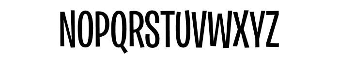 Burbank Big Condensed Light Medium Font UPPERCASE