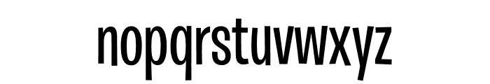 Burbank Big Condensed Light Medium Font LOWERCASE