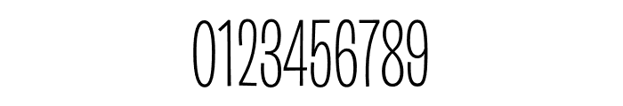 Burbank Big Condensed Light Font OTHER CHARS