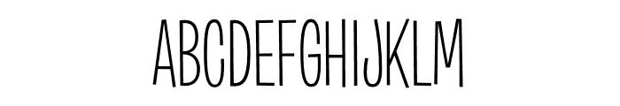 Burbank Big Condensed Light Font UPPERCASE