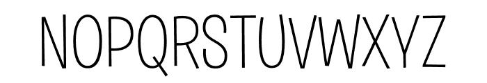 Burbank Big Regular Light Font UPPERCASE